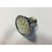 E27-20SMD-220VCW 3W Hideg fehér LED izzó