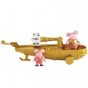 The Clangers - Musical Boat with Two Figures