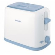 Philips HD2566/79 950 W Pop Up Toaster(White and blue)