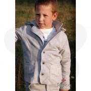 Sivi sako sa kapuljačom