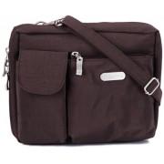 Baggallini Wallet Bag Messenger Bag, Brown (Espresso)