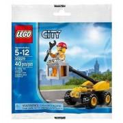 Lego City Repair Lift Set Bagged (30229)
