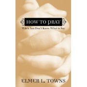 How to Pray When You Don't Know What to Say by Elmer L Towns