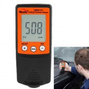 NICETY Coating Thickness Gauge for Measurement of Non-magnetic Coatings on Ferromagnetic Substrates and Electrically Non-conductive Coating on Non-ferrous Metals (CM8801FN)