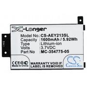 Amazon Kindle Paperwhite 2013 / 58-000049 1600mAh 5.92Wh Li-Ion 3.7V (Cameron Sino)