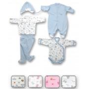Sevi Baby - Комплект за изписване на недоносени бебенца - 5 части