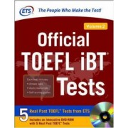 Official TOEFL iBT Tests: Volume 2 by Educational Testing Service