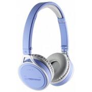 Casti Esperanza Yoga EH160B Close-Air Stereo Wireless Bluetooth 2.1 albastru deschis