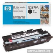 HP Color LaserJet 3500/ 3700 Smart Print Cartridge, black (up to 6,000 pages) (Q2670A)