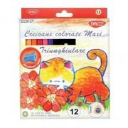 Creioane color Daco 12 culori / set 4763