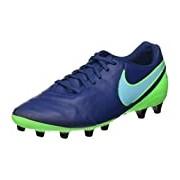 Nike Men's Tiempo Genio Ii Leather Ag-pro Football Boots blue Size: