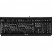 JK-0800EU-2 KC 1000 Economical Corded Keyboard, Black, Whisp