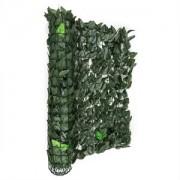 Blumfeldt Fency Dark Leaf, sötétzöld, mix, kerítés, védelmet nyújt a kíváncsi tekintetekkel és a széllel szemben, 300 x 100 cm (GDW2-FencyDrkLeaf310)
