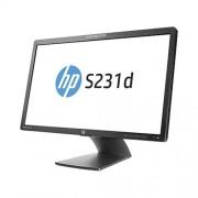 "Monitor HP EliteDisplay S231d, 23"" IPS LED, 1920x1080 FHD, 1000:1, 7ms, 250cd, VGA, DP, USB"