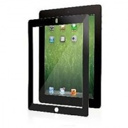 Moshi iVisor Screen Protector XT (Crystal Clear) for The New iPad 3rd & 4th Generation (Newest Model) -Black