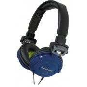 Panasonic RPDJS400A DJ Street Model Headphones (Blue)