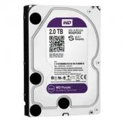 HDD 2TB Western Digital Purple Surveillance, 3.5 inch, SATA3, IntelliPower, AF, 64MB, WD20PURX