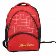Kuber Industries 30 Ltrs School Bag Backpack (Red) - KI9082