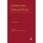 Daniel Jones, Selected Works: Selected Papers v. 7 by Beverely Collins