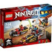 Ninjago - Ninja motorachtervolging