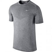 Nike DRI-FIT Knit SS T-shirt homme L noir/argent