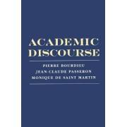 Academic Discourse by Professor Pierre Bourdieu