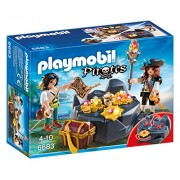 Playmobil - Escondite del tesoro con piratas (66830)