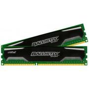 Ballistix Sport Kit Memoria da 8 GB (4 GBx2), DDR3, 1600 MT/s, (PC3-12800) UDIMM, 240-Pin - BLS2C4G3D169DS1J