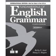 Fundamentals of English Grammar (International) SB with Answer Key by Betty Schrampfer Azar