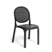 Stolica plastična Dalia colori 21 Antracit