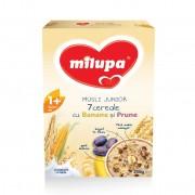 Milupa Musli Junior 7 Cereale (fara lapte) cu banane si prune 250g