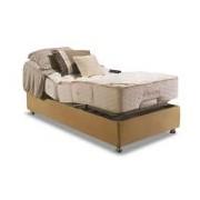 Conjunto Box Colchão Herval Pocket Ajustable Com Massagem MH 1430 + Cama Regulável - Conjunto Box Solteirão - 101 x 203 x 52