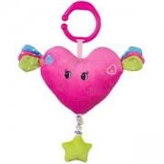 Плюшена музикална играчка Сърчице - 1115 Babyono, 9070032