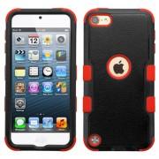 Funda Protector Triple Layer Apple Ipod Touch 5G / 6G Negro / Rojo -2