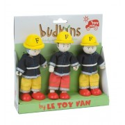 Le Toy Van Budkins Vigili dei Fuoco Gift Pack