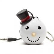 Boxa portabila Trendz Mini Buddy Snowman, Alb