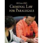 McGraw-Hill's Criminal Law for Paralegals by McGraw-Hill Education