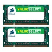 CORSAIR-Mémoire PC Value Select 2 x 4 Go DDR3-1333 PC3-10666 CL9 (CMSO8GX3M2A1333C9)-