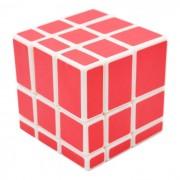 Cubo magico IQ juguete educativo - blanco + rojo