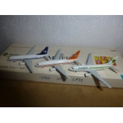 AIRCRAFT MODEL SET OF 3 MODELS GERMANIA 6937-6938-6939B-737-75B