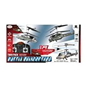 Toyrific Battle Army Radio Control Helicopters Twin Pack
