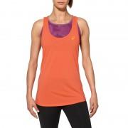 asics Oversized Koszulka do biegania Kobiety Tank pomarańczowy Koszulki do biegania bez rękawów