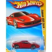 Hot Wheels 2010 Ferrari 458 Italia 034/240, '10 New Models 1:64 Scale Collectible Die Cast Car by Mattel
