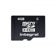 Card Integral microSDHC 4GB Class 4