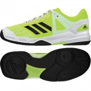 adidas Kinder-Handballschuh COURT STABIL JUNIOR - solar yellow/core bl