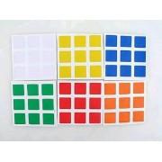 Stickers Sticker Autocollant De Rubik's Cube 3x3 - 6 Faces 6 Couleurs