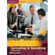 Cambridge English Skills Real Listening and Speaking Level 4 with Answers and Audio CDs by Miles Craven