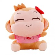 Happy Walk Hip Hop Mono juguetes de felpa para los amantes menmory de San Valentín Día Regalos Yoci monos rosa rosa