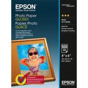 Hartie Photo Epson Glossy, 10 x 15cm, 500 pagini