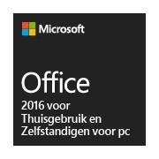 Office 2016 voor Thuisgebruik en Zelfstandigen voor pc
